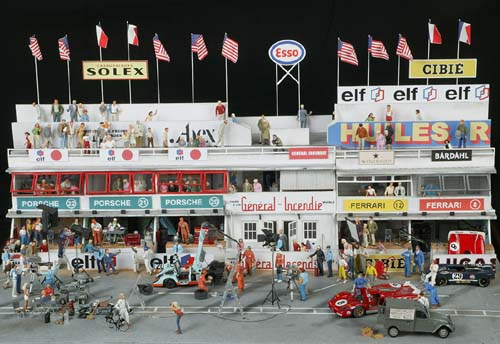 1970 le mans paddock diorama from chrono 43 page 2. Black Bedroom Furniture Sets. Home Design Ideas